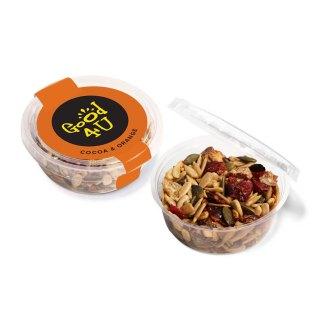 Eco Range – Eco Midi Pot - Cocoa & Orange Snacks