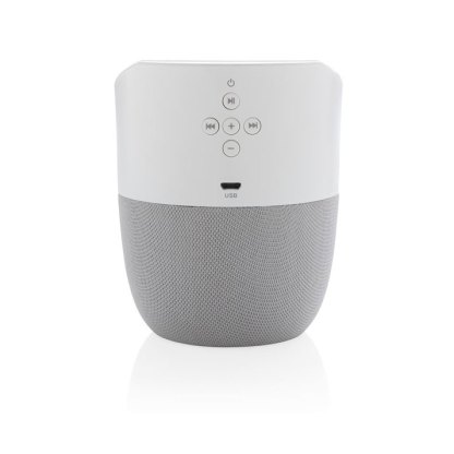 Home speaker with wireless charger