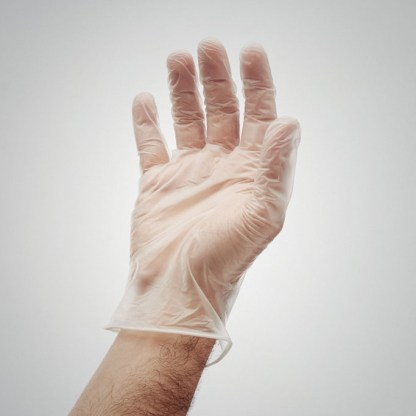 100 disposable gloves