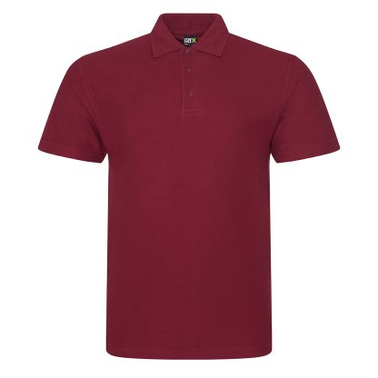 PRO polo shirt embroidered with your logo. Pro RTX Workwear polo available in a wide range of colours and sizes. Hard-wearing. Rosslyn, U.K.