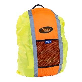 Hi-vis rucksack cover
