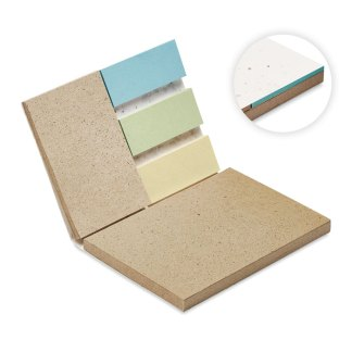 Grow Me memo set with growing paper cover