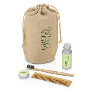 Eco gift set in a hemp bag