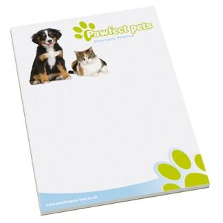Standard A4 notepad