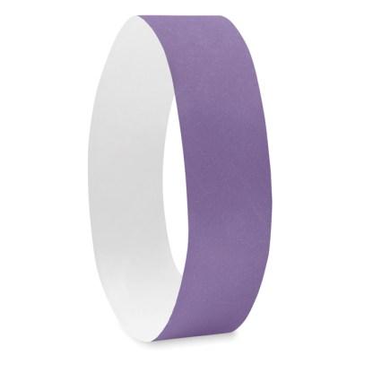 One sheet of 10 Tyvek® wristbands