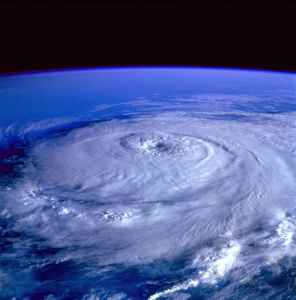 show magnitude of the storm
