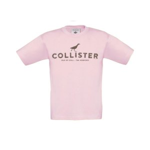 Light Pink Collister Kids tee