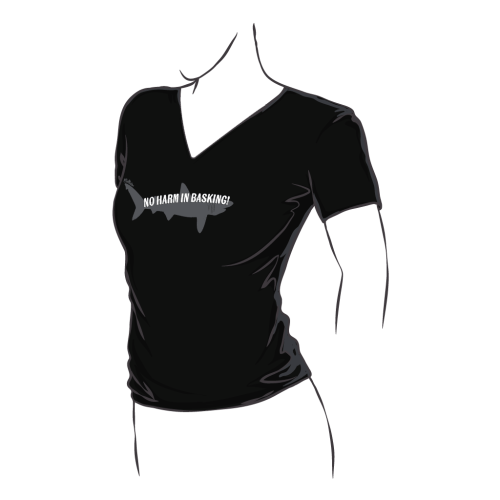 Fitted Basking Shark Tee