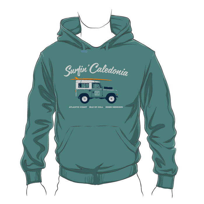 Coll Surfin' Caledonia Hoodie