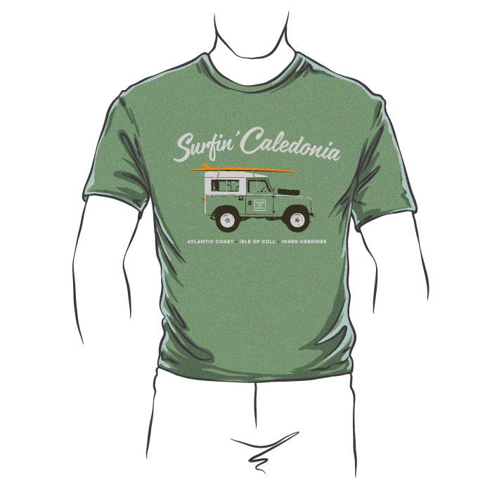 Surfin Caledonia T-Shirt