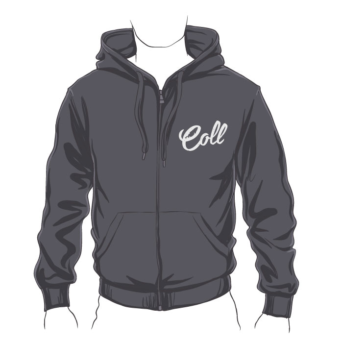 Collister Zipped Hoodie