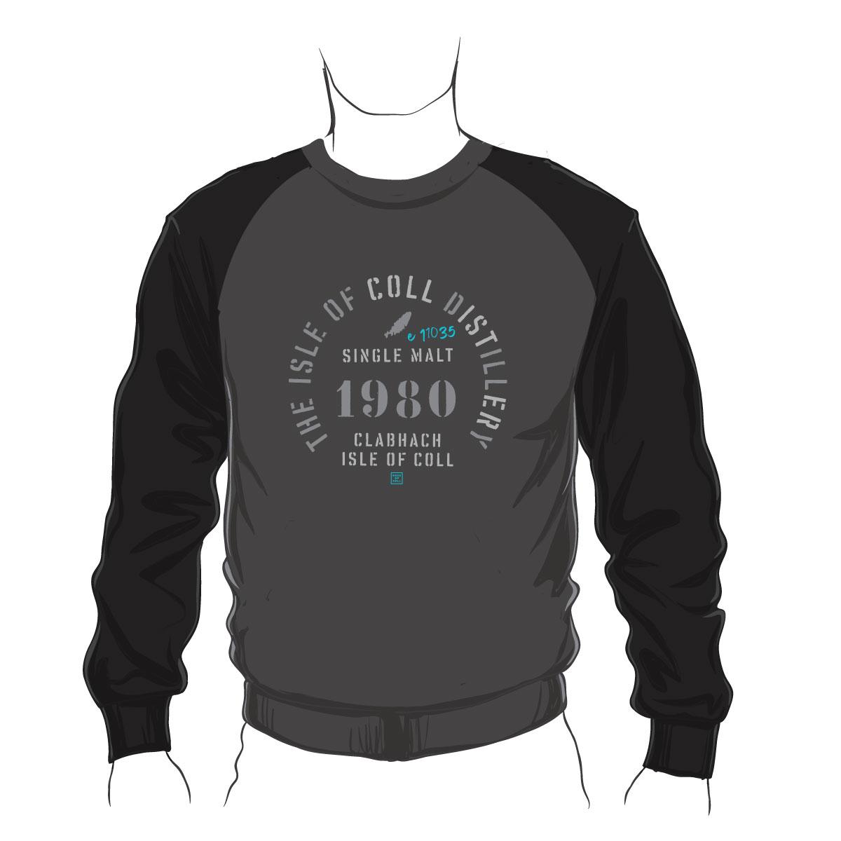 Coll Distillery Baseball Sweatshirt