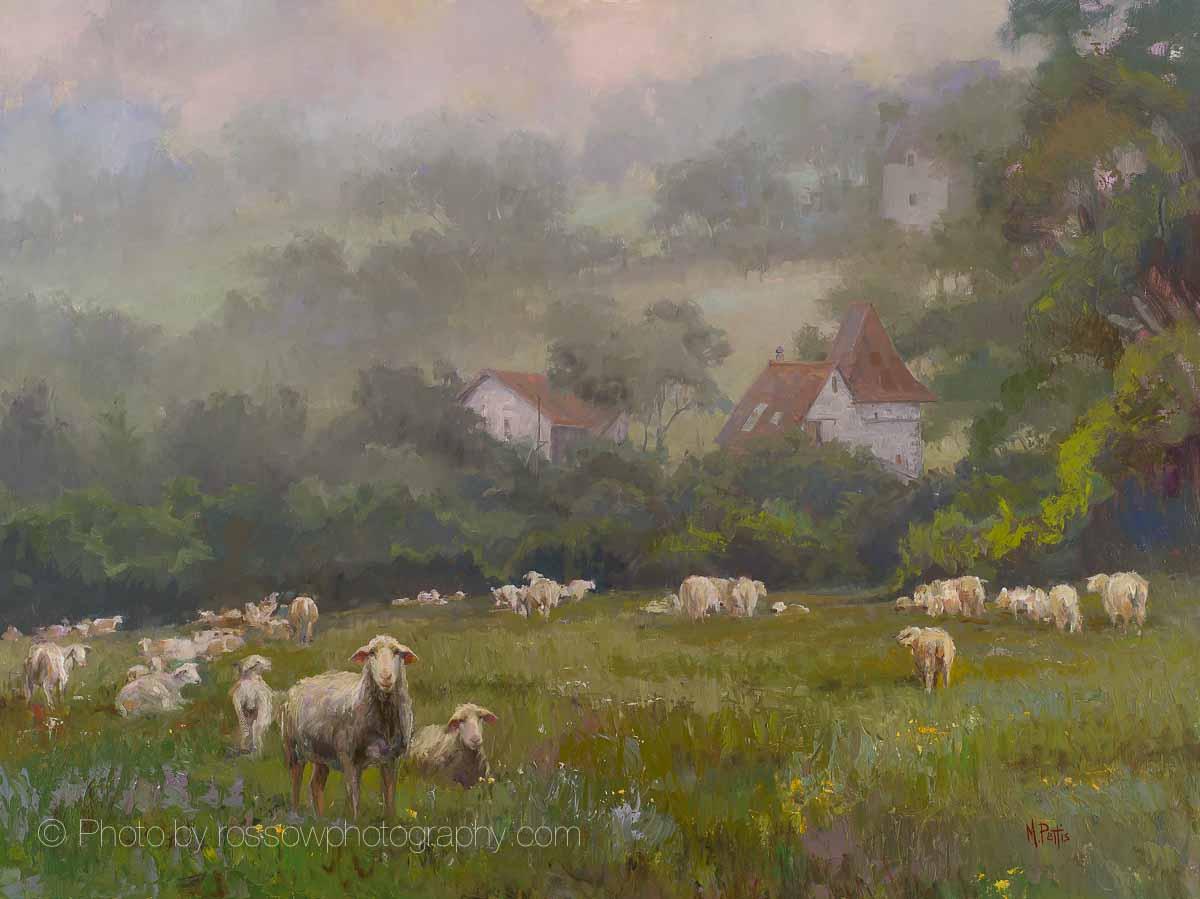 Musique du Mouton 30 x 40, Mary Pettis