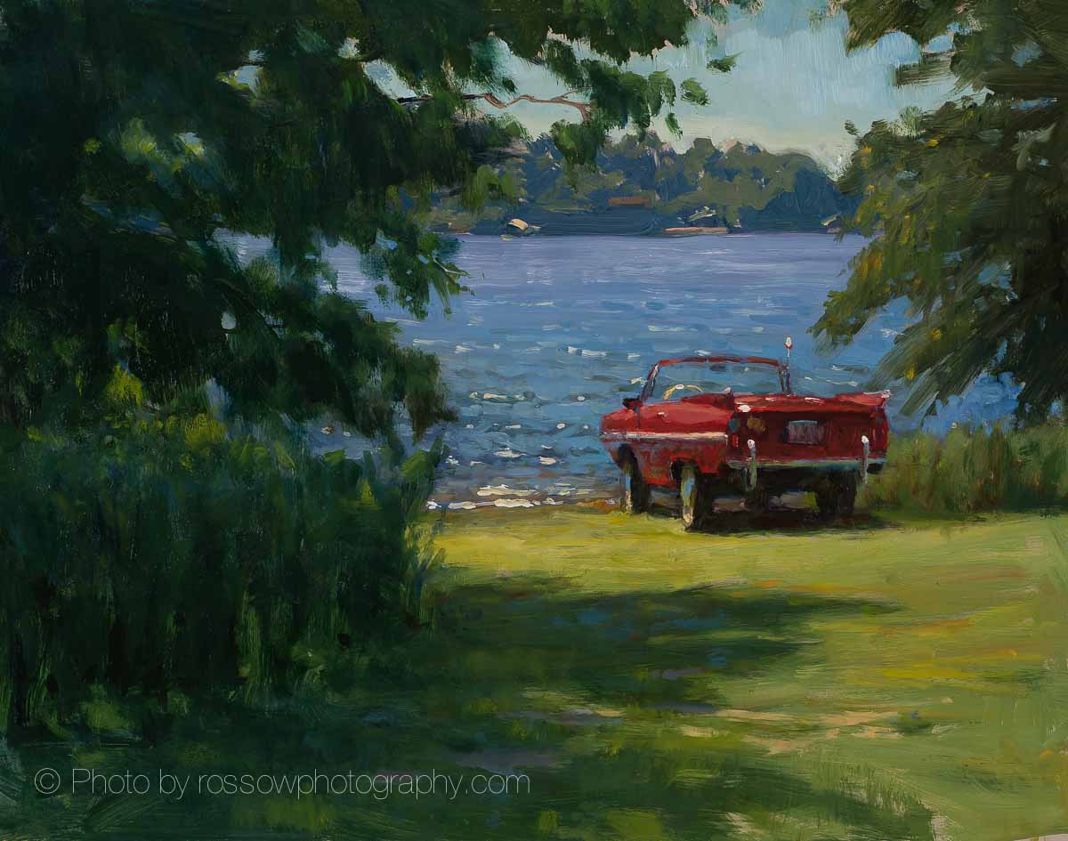 Artwork Photography of Goose Island Amphicar 11x14