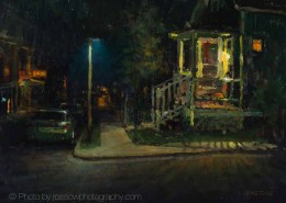 We'll Leave the Porch Light On 11x14