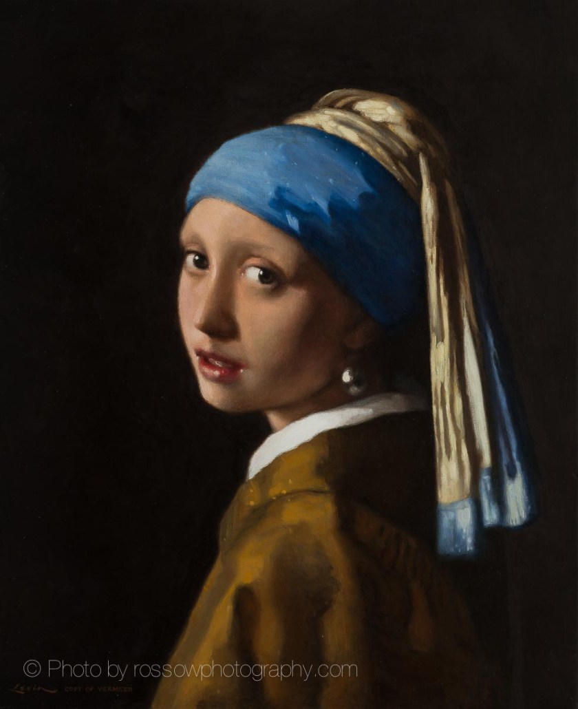 Artwork Photography of Johannes Vermeer Pearl Earring