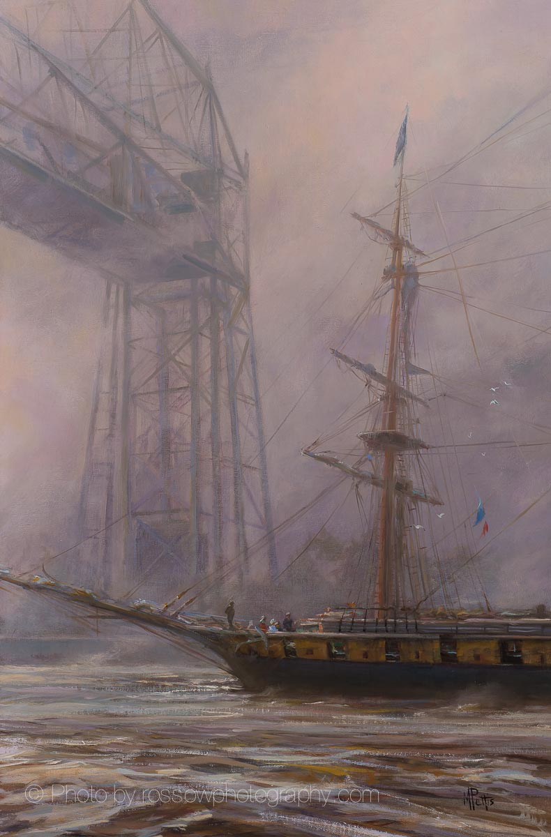 Artwork Photography of Duluth Ship