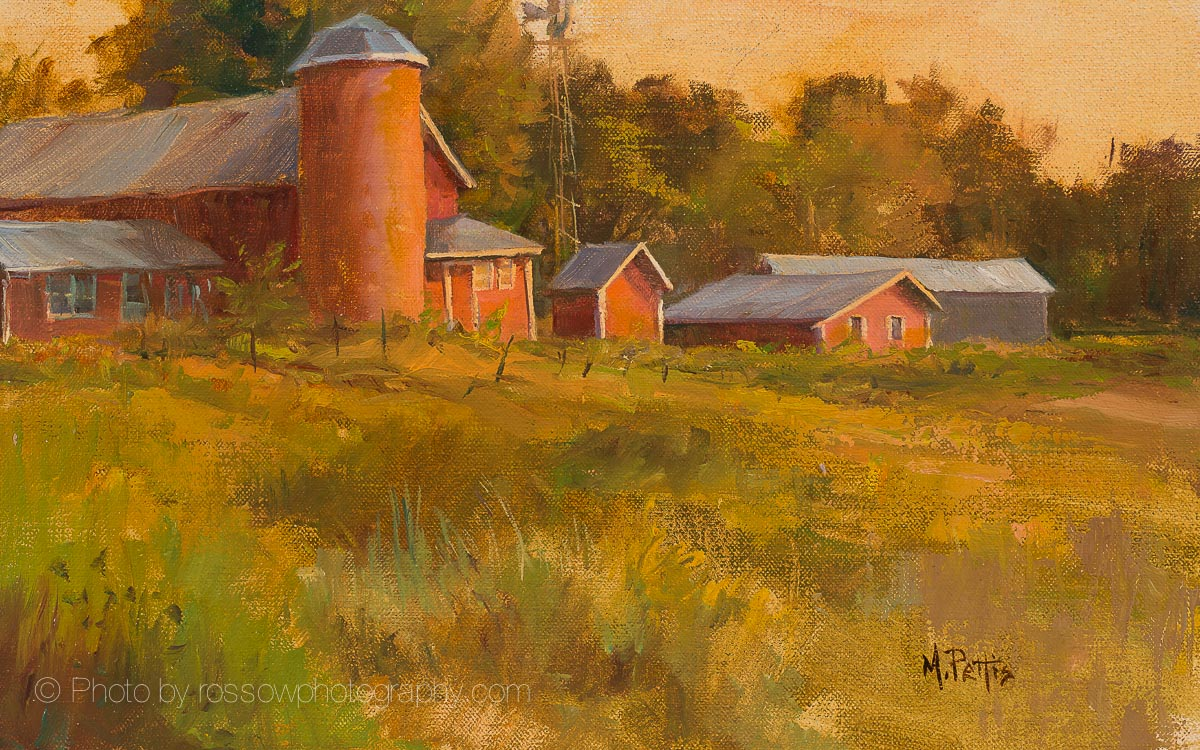 Artwork Photography of Herberg Farm Morning 8x13