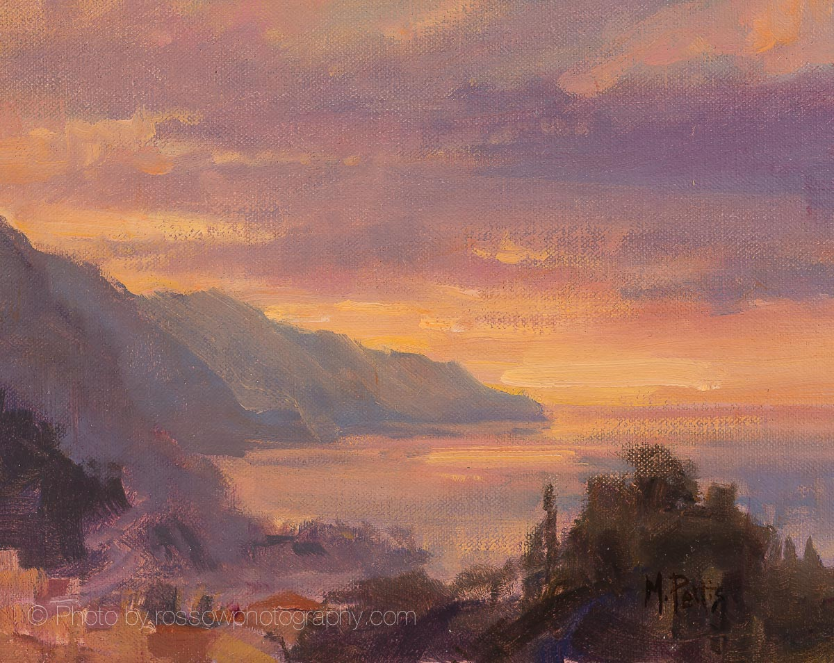 Artwork Photography of Monterosso Sunrise -- Saturday