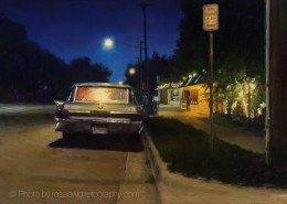 Artwork Photography of Twilight Ride