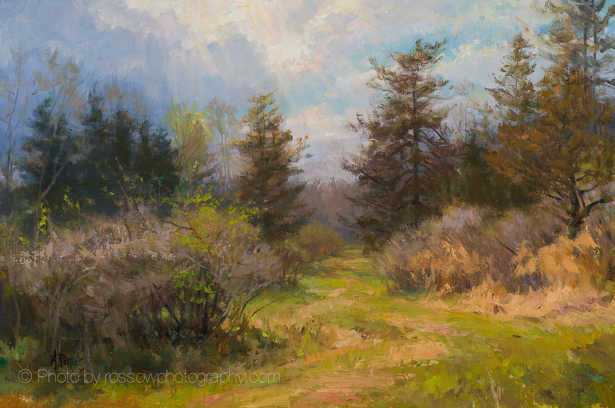 Artwork Photography of Spring Path-by-Mary Pettis