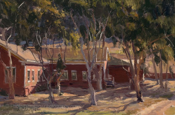 Barracks Morning Light 8x12