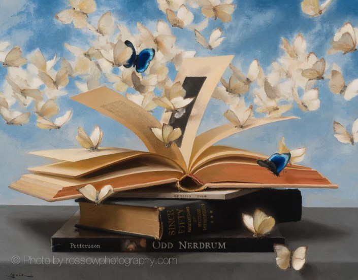 Books and Butterflies 5
