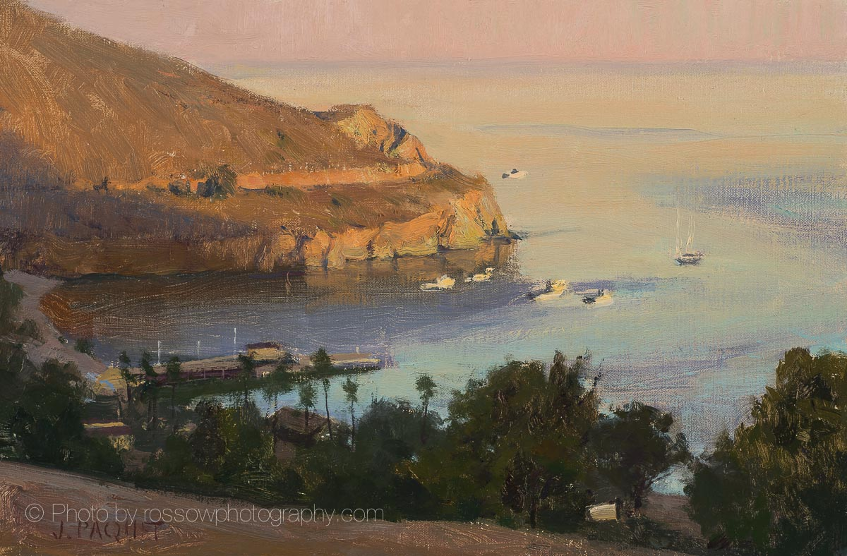 Early Light, Two Harbors 8x12