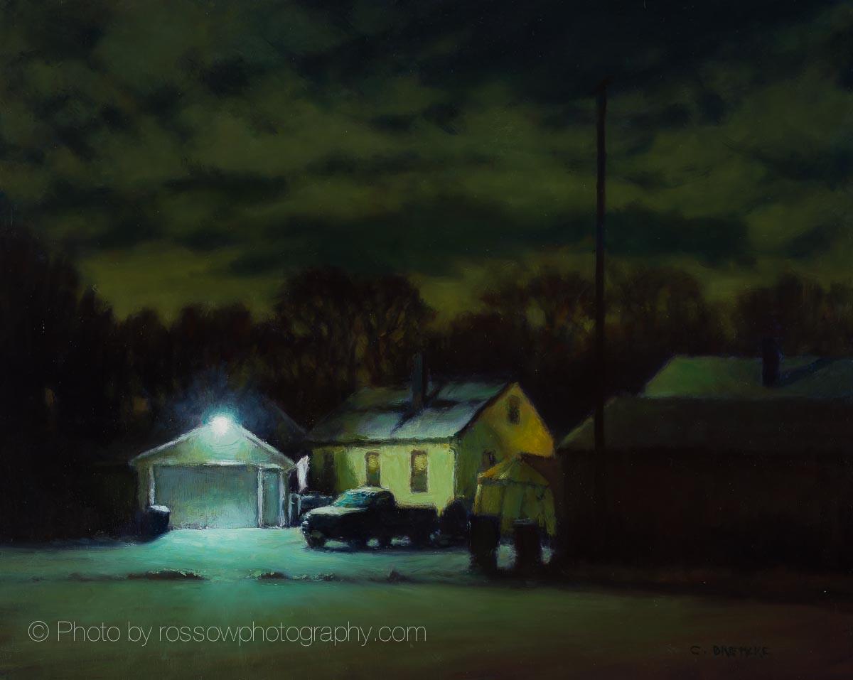Quiet Winter Night 16x20