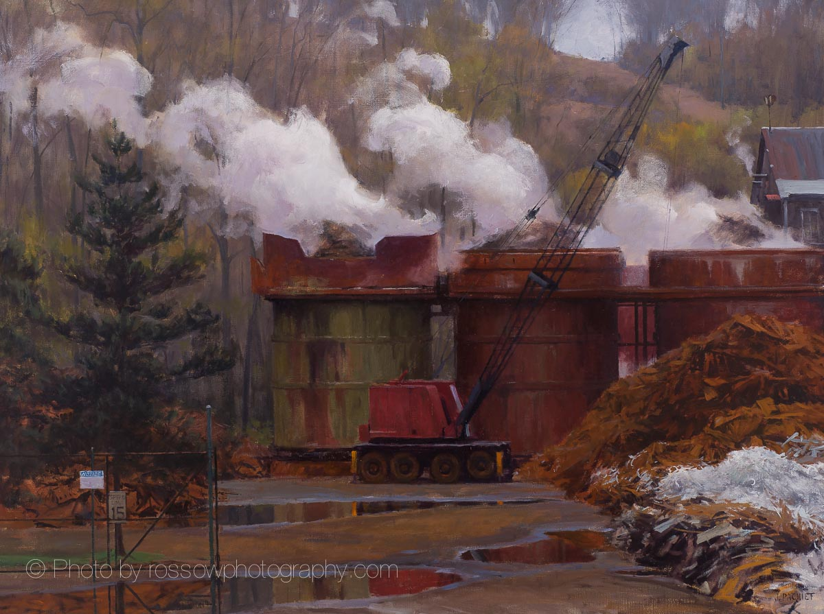 Rust 36x48