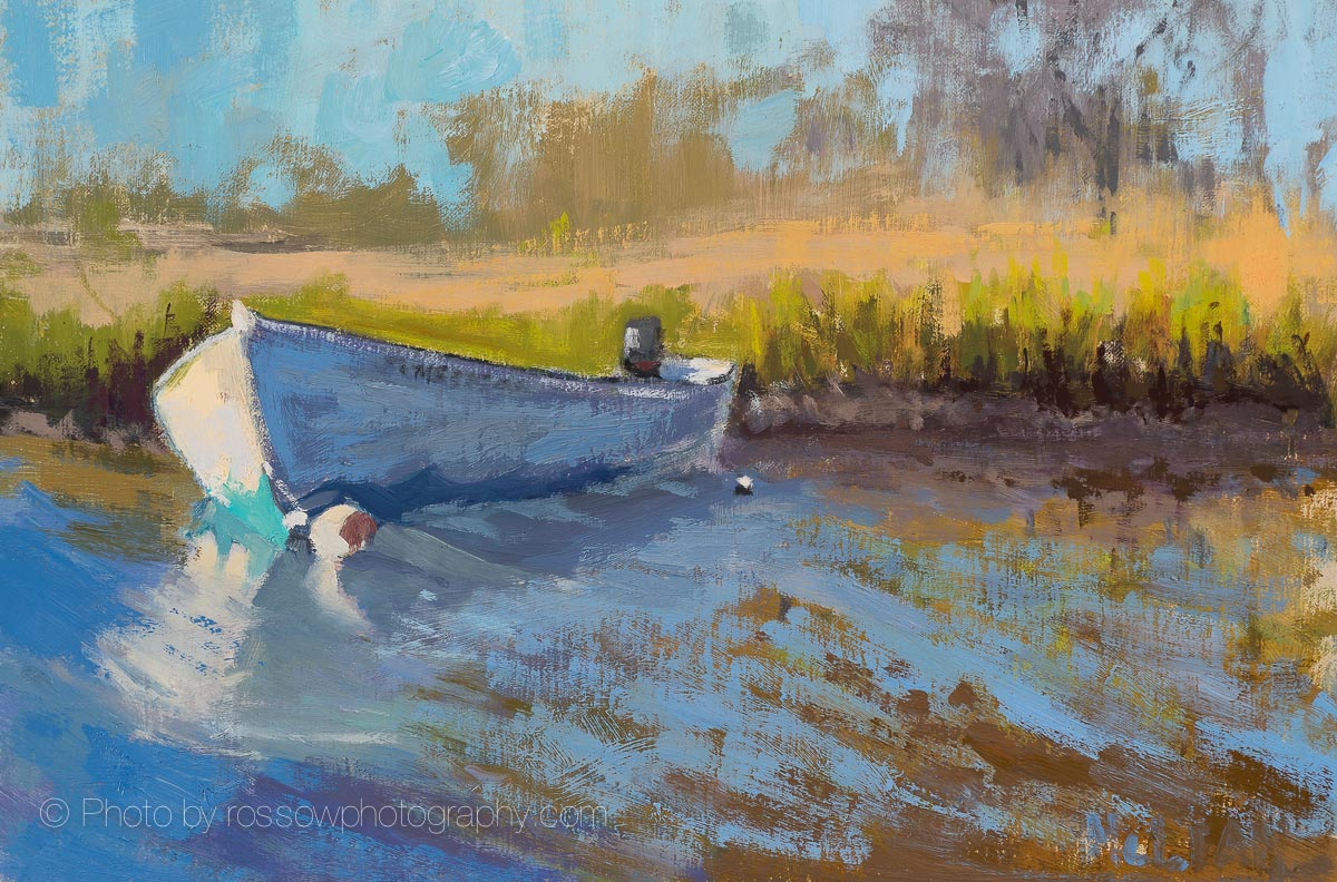 Cape Cod Boat 8x11-Mary McLean