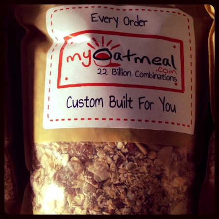 MyOatmeal.com Bag