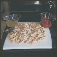 Chicken shredded!