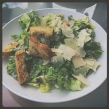 Great, fresh caesar salad.