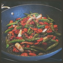 Add sauce...