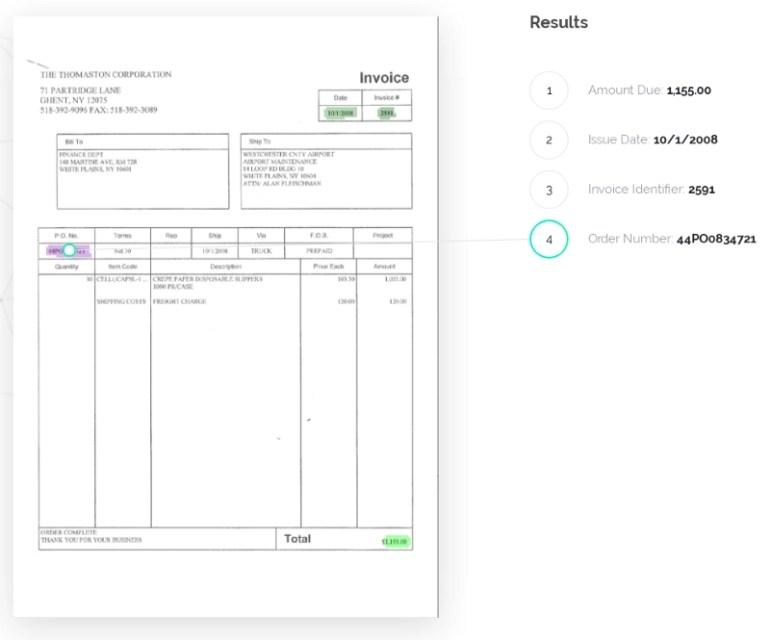 Rossum's Invoice Robot