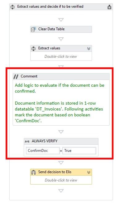 Rossum with Upath - automated human verification