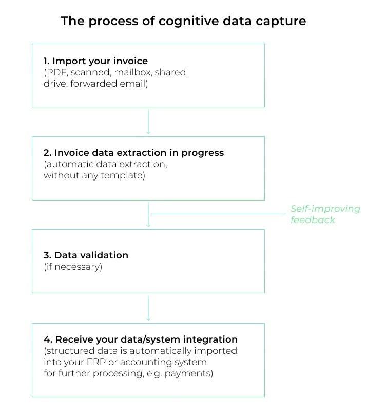 Cognitive data capture process