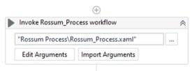 Invoking the Rossum Workflow.