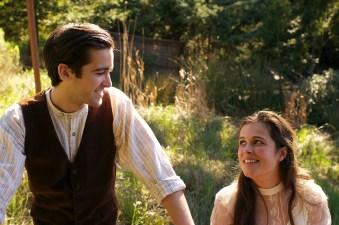 Zach Stewart as Alexsey and Emily Ludlow as Vera. Photo by Robin Jackson.