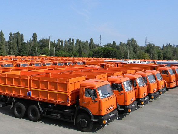 KAMAZ to Become the New Face of the UN World Food Programme Transport Service