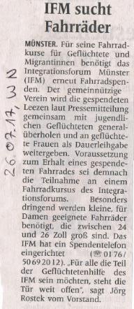 2017_07_26_WN_IFM_sucht_Fahrraeder