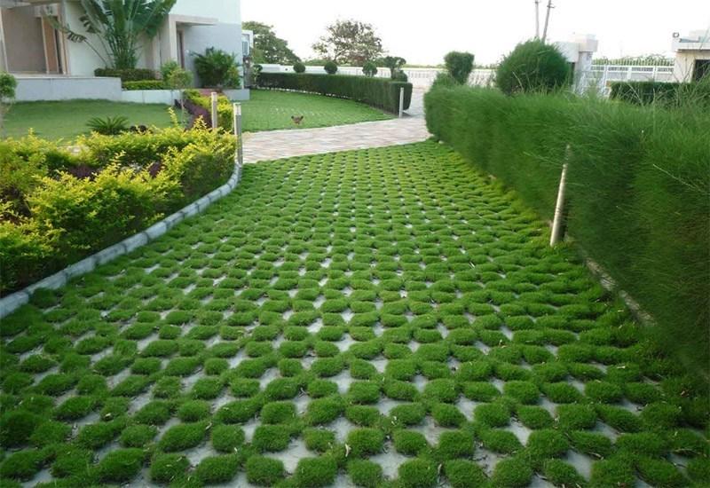 grass block paving taman
