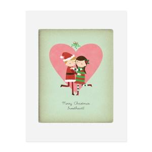Custom Christmas Art Prints