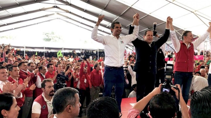 Asistió Alejandro Murat toma de protesta de Alfredo del Mazo