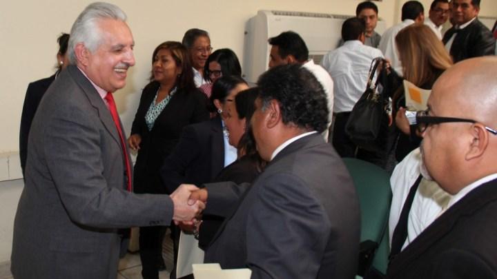 Función judicial exige jueces especializados y con ética: Raúl Bolaños Cacho Guzmán