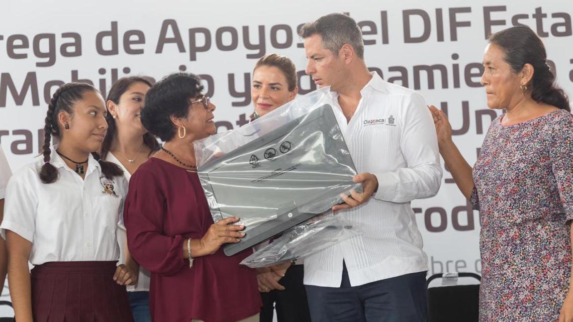 Fortalece Gobierno de Oaxaca sector educativo, agropecuario, mujeres y juventud