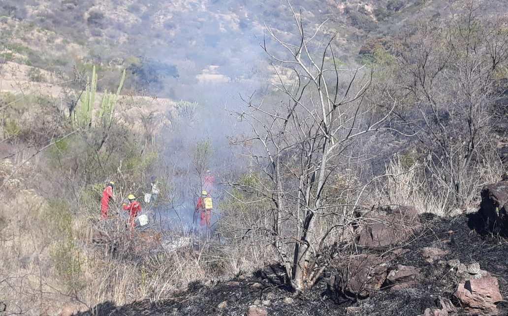 Suman 76 incendios en lo que va del año en Huajuapan