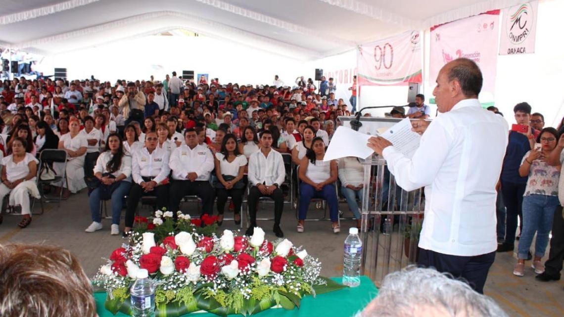 Dice Jorge González que «en Oaxaca el PRI avanza»