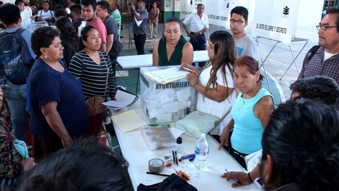 Munícipe capitalino reconoce civilidad y participación ciudadana en elección de agentes